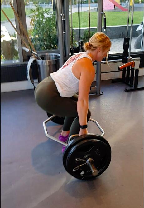 fitness träning och mat