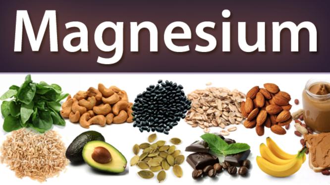 matvarer med mye magnesium