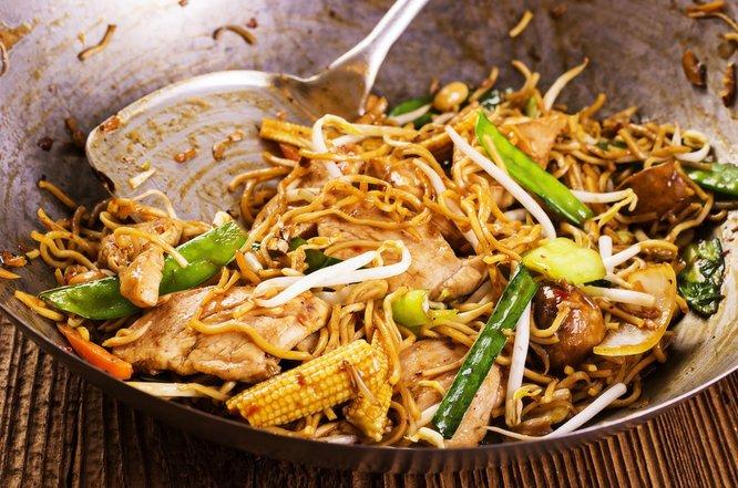 nudler til wok